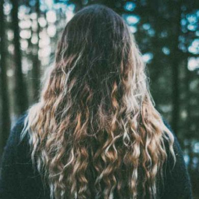 cheveux d'une femme
