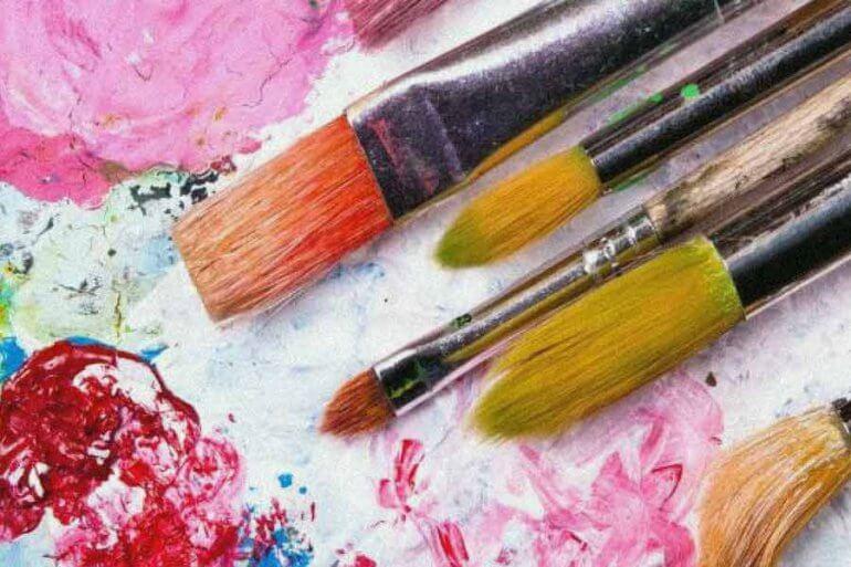 pinceaux peinture artistique
