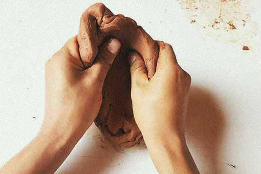 sculpture argile